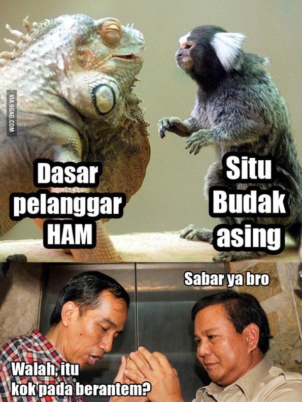Fans Jokowi vs Prabowo